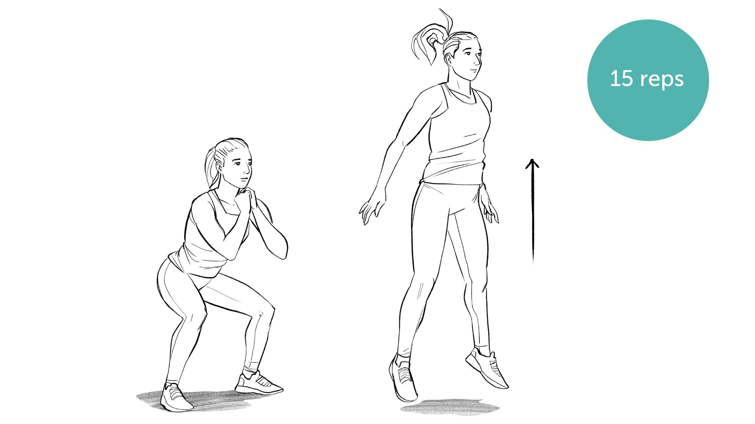 Power Jump Squat