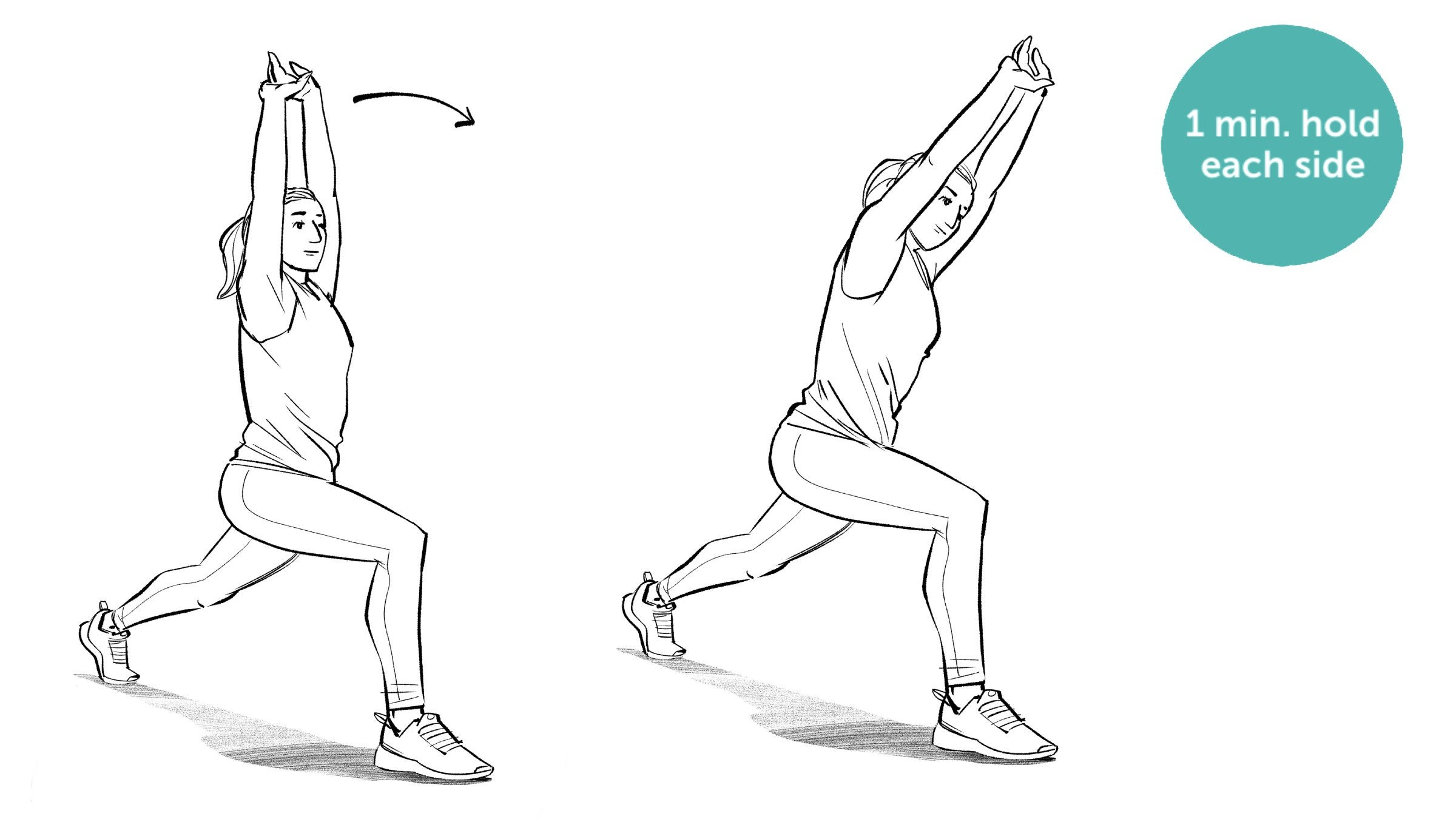 Hip Flexor Side Body Stretch