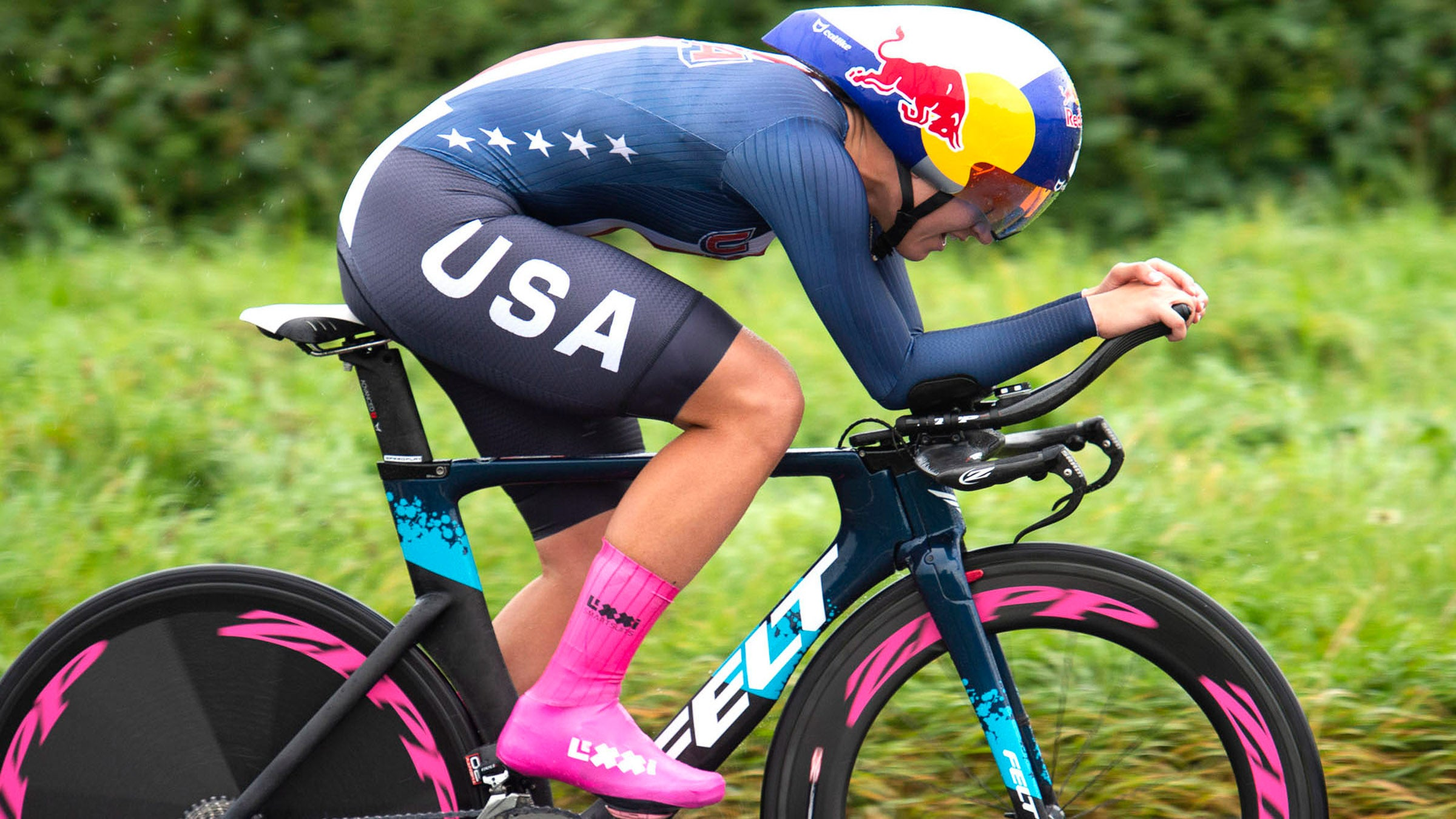Chloe Dygert at the 2019 UCI Road World Championships