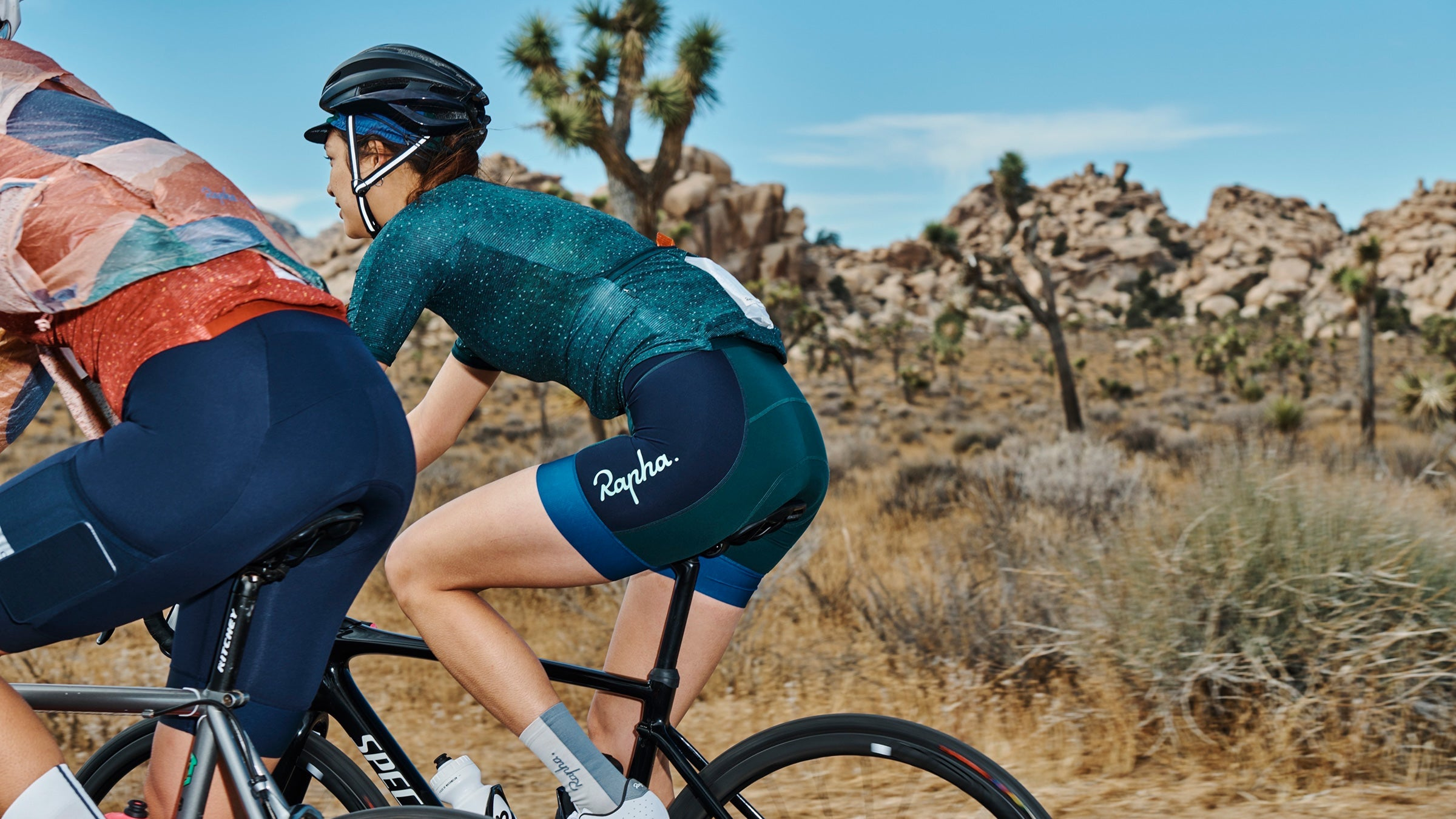 Rapha Outdoor Voices padded shorts