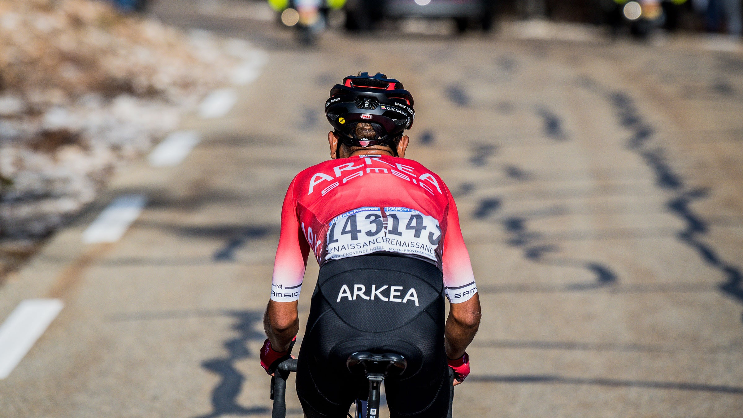Quintana drops the field on Ventoux
