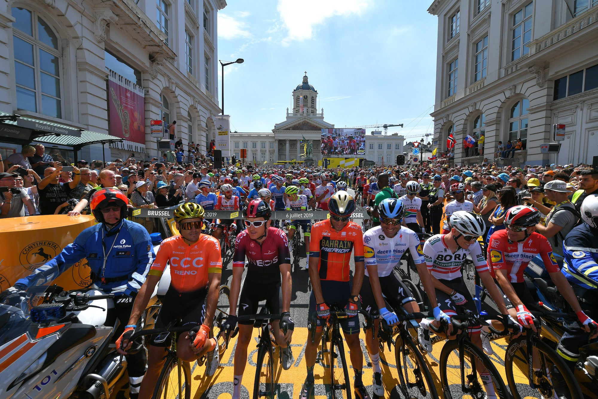 Teams with two COVID-19 cases will be removed from Tour de France – VeloNews.com