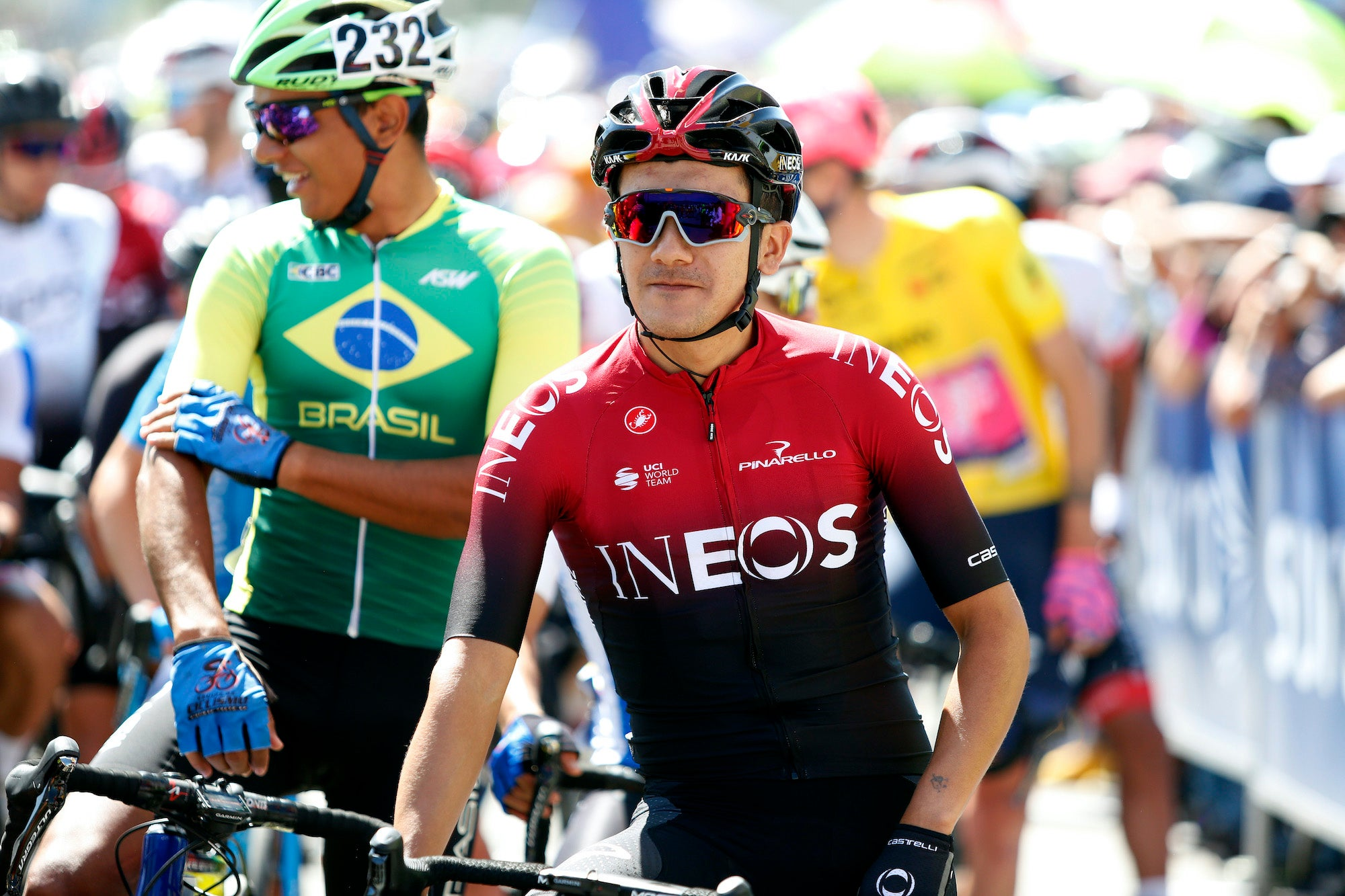 Tour of Poland stage 3: Richard Carapaz opens early sprint, holds off field for stunning win – VeloNews.com