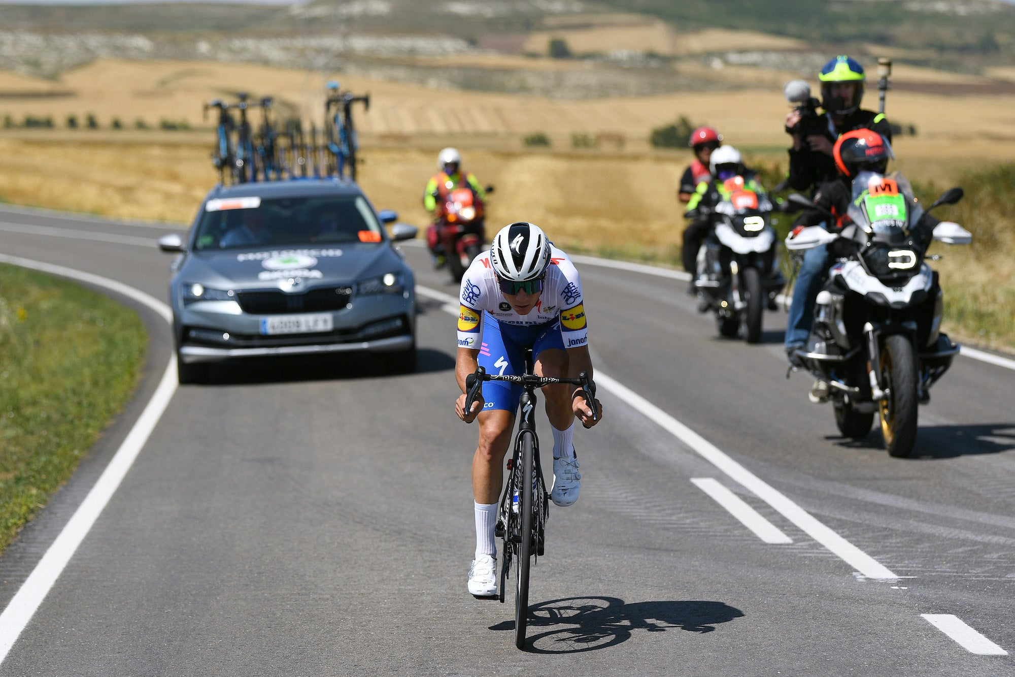 Burgos victory is next step in Evenepoel's grand tour ambitions – VeloNews.com