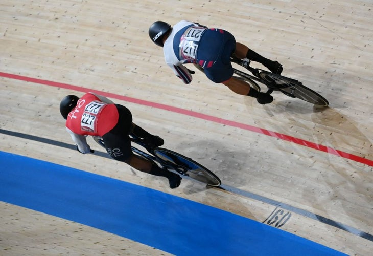 Nicholas Paul and Denis Dmitriev ensured an exciting competition in the men's sprint