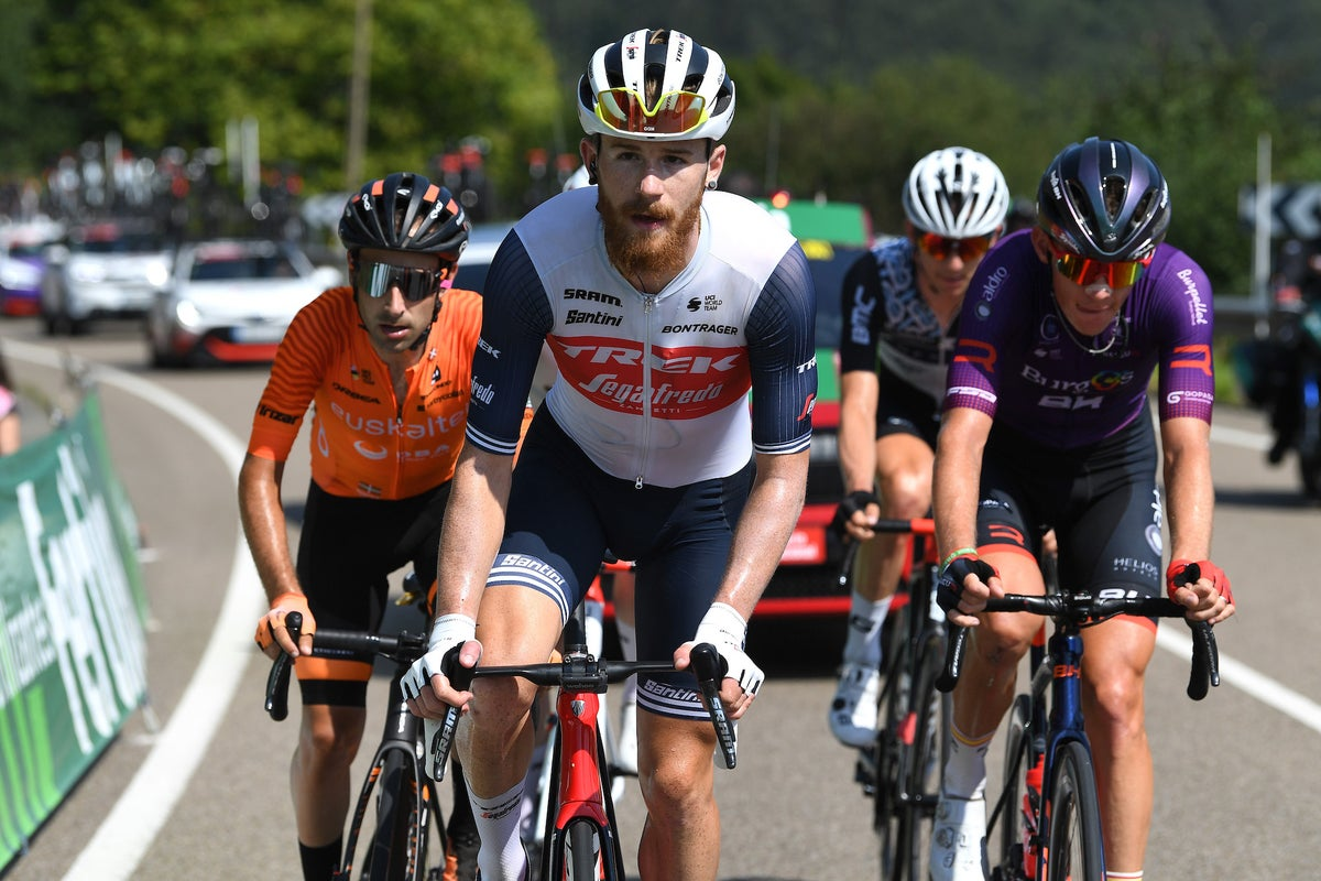 Quinn Simmons chases win and form in Vuelta a España breakaway