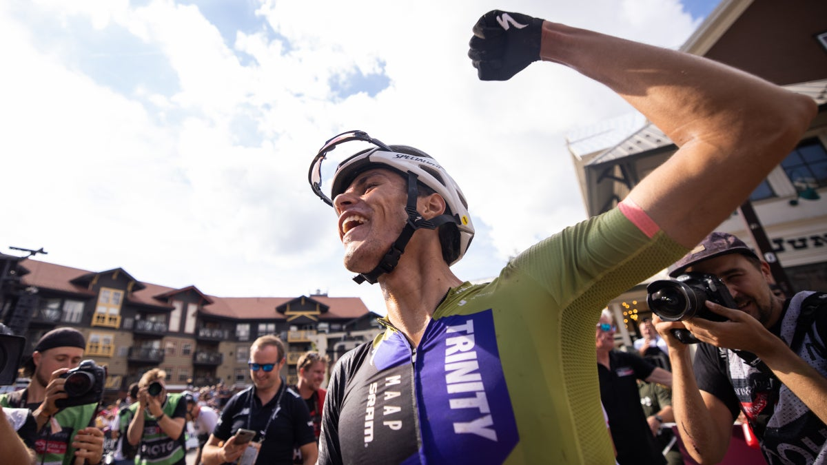 Christopher Blevins becomes first American man to win MTB World Cup since 1994