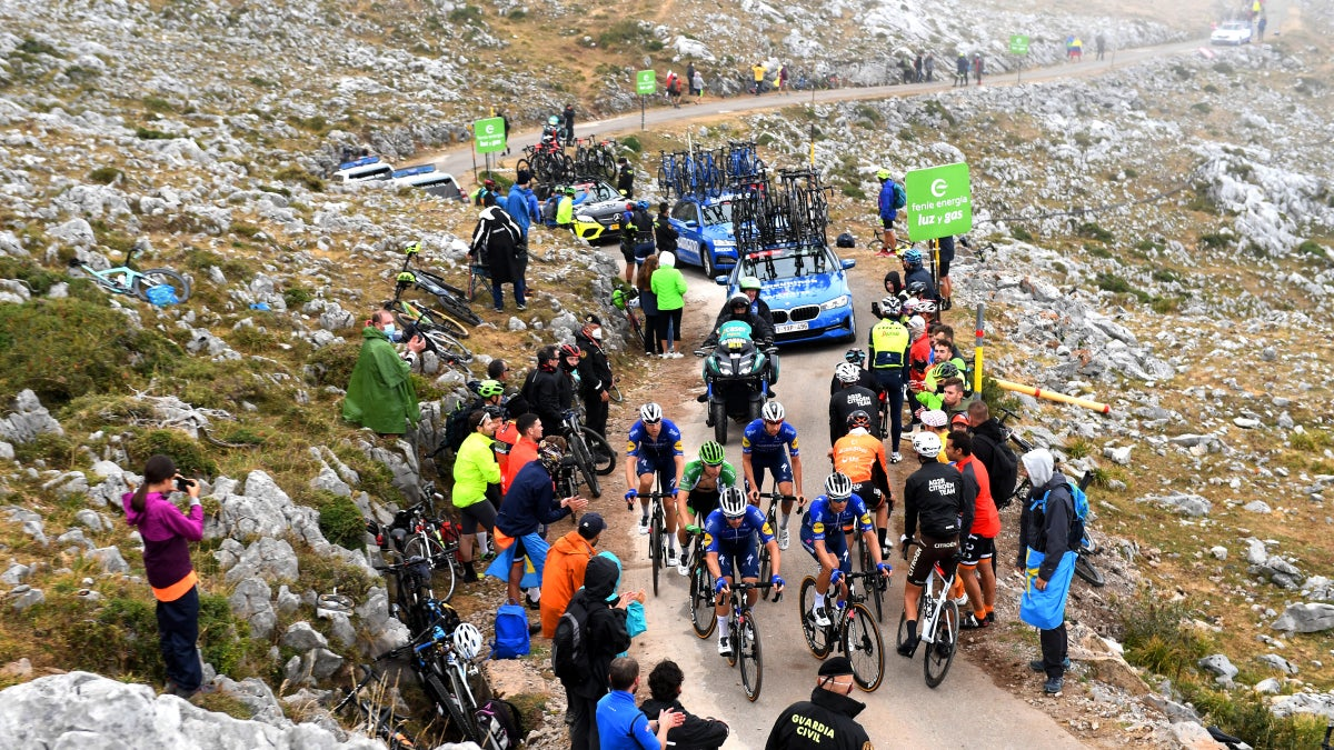 Vuelta a España: What the stars said after 'Superman' López's stage 18 win