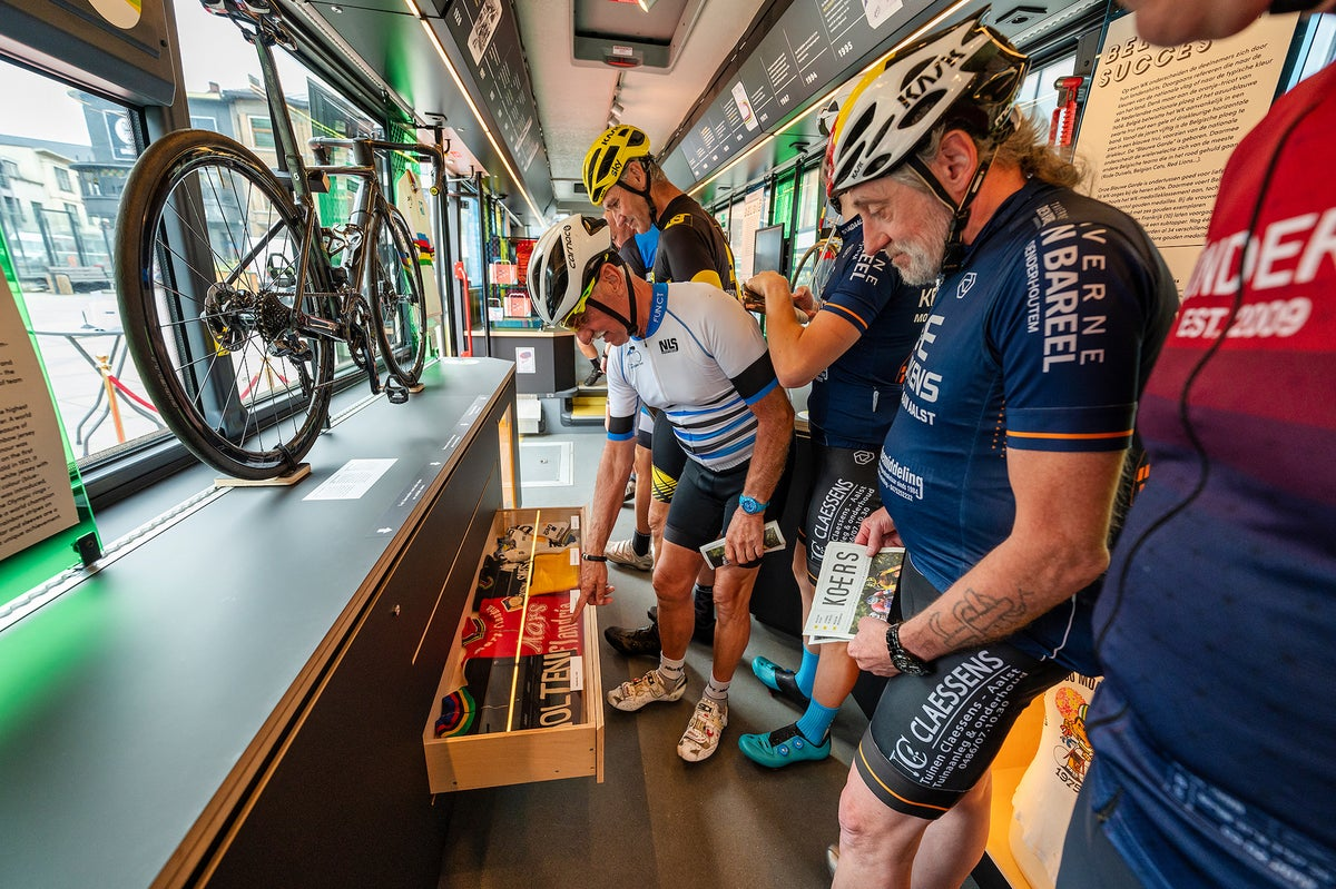 Get on the bus: KOERSbus is a world championships exhibit on wheels