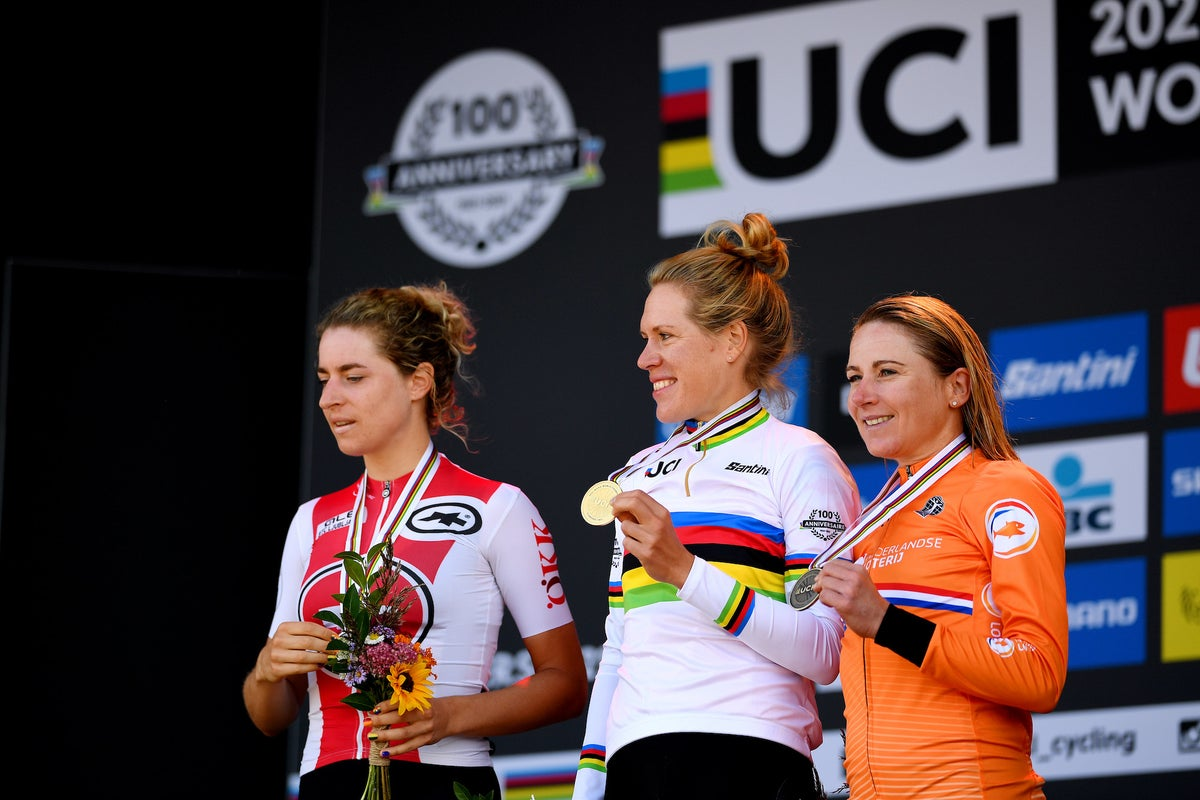 World championships: What Ellen van Dijk, Amber Neben, and others said after another Dutch time trial victory