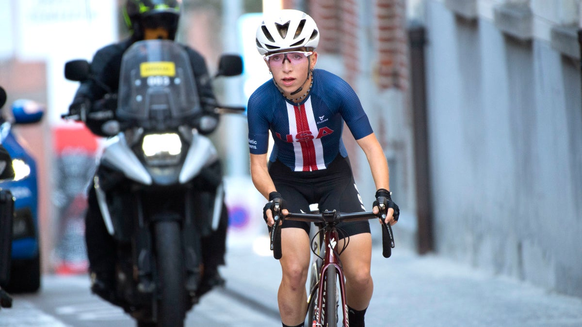 American Kaia Schmid: 'Any day on a worlds podium is a good day'