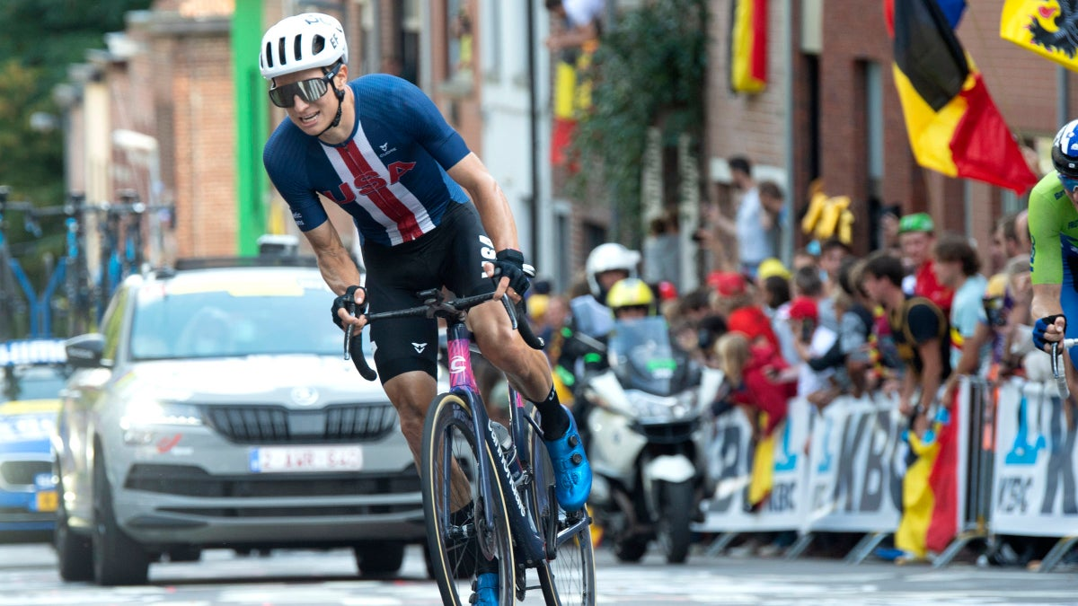 Neilson Powless rockets to best US men's worlds result in two decades