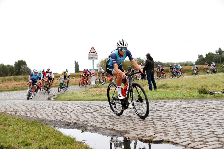 Less TV coverage meant fans missed Lizzie Deignan's big attack